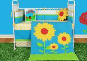 Snuggleberry Baby SB-SL601 Sunflower Love 6 Piece Crib Bedding Collection