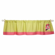 Disney Baby Bedding Minnie Mouse's Petal Perfect Window Valance