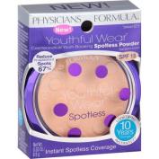 Physicians Formula Youthful Wear Spotless Powder, 6210 Translucent, 10ml