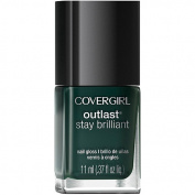 COVERGIRL Outlast Stay Brilliant Nail Gloss, 287 Give'em the Greenlight, 10ml