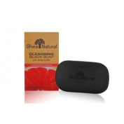 Shea Natural 1518190 Black Soap Shea Butter Cleansing Grapefruit Pomelo 150ml