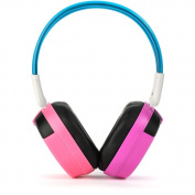 Bravo View IH-04A-KID FRIENDLY Automotive IR Wireless Headphones, Pink/Purple