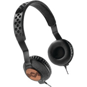 House of Marley Em-jh073-mi Jammin Liberate On-Ear Headphones with Microphone, Midnight