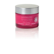 1000 Roses Heavenly Night Cream Andalou Naturals 50ml Cream