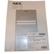 NEW NEC SL1100 NEC-NEC1100066 DESI SHEET 12 BUTTON TELEPHONE