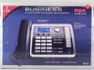 RCA ViSYS 25214 - Corded phone with caller ID/call waiting - 2-line operation - black, silver