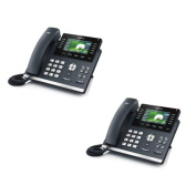 Yealink SIP-T46G - Bundle of 2 SIP-T46G IP Phone