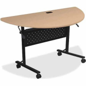 Lorell LLR60658 Flipper Half Round Training Table
