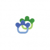 Green Sprouts 1227651 Sili Paw Teether 2 Pack Assorted