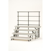 National Public Seating Guard Rails 4th level for Transport Riser