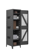 Durham Manufacturing 14 Gauge Steel Visible Storage Locker