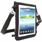 USA Gear 18cm Tablet Sleeve Case with Touch Capacitive Screen Protector and Adjustable Shoulder Strap - Use with Acer, Apple, Dell, for Samsung and More!