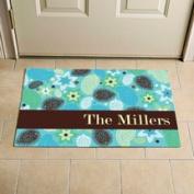 Personalised Paisley Doormat, 60cm x 90cm