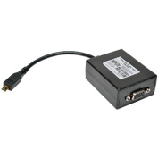Tripp Lite P131-06n-MicroA microHDMI to VGA with Audio Converter