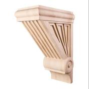 Decorative Wood Starburst Corbel