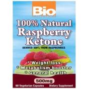 Bio Nutrition 1237387 Raspberry Keytones 500 Mg 60 Ct
