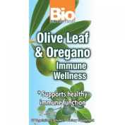 Bio Nutrition 1182849 Immune Wellness Olive Leaf And Oregano 60 Vcaps
