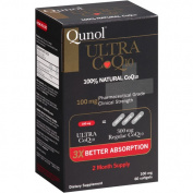 Qunol Ultra CoQ10 Dietary Supplement Softgels, 100mg, 60 count