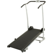 ProGear 190 Space Saver Manual Treadmill with 2 Level Incline and Twin Flywheels