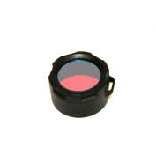 Powertac Red Flashlight Filter fits Warrior and Hero