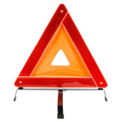 Forney 57152 Warning Triangles with Plastic Box 46cm Orange