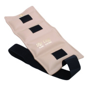 the Cuff 10-2510 Deluxe Ankle and Wrist Weight 2.7kg. Beige