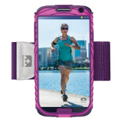 Nathan Sonic Boom Armband For Samsung Galaxy S4 Pink/ Purple 4925NFFP