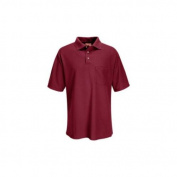 Red Kap Performance Knit 50/50 Blend Solid Shirt, Men, Burgundy, SSL