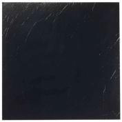 Nexus Black 30cm x 30cm Self-Adhesive Vinyl Floor Tile