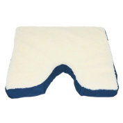 Deluxe Comfort Coccyx Gel Seat Cushion with Fleece