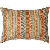 Better Homes and Gardens Woven Stripe Decorative Pillow, Orange