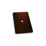 Residential Essentials 10812VB Single Cable Jack Switch Plate, Venetian Bronze
