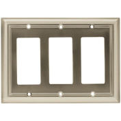 Brainerd Architectural Triple Decorator Wall Plate