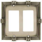 Franklin Brass Pineapple Double Decorator / GFCI Wall Plate, Available in Multiple Colours