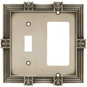 Franklin Brass Pineapple Single Switch and Decorator/GFCI Wall Plate, Available in Multiple Colours
