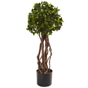 Nearly Natural 0.8m English Ivy Topiary, UV Resistant, Indoor and Outdoor