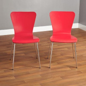 Pisa Bentwood Chair, Set of 2, Multiple Colours