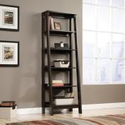 Sauder Trestle 5-Shelf Bookcase, Jamocha Wood