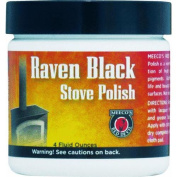 Meeco Mfg. Co. Inc. 402 Black Stove Polish-120ml PASTE STOVE POLISH