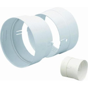 Dundas Jafine DC4ZW Lint Duct Connector-10cm LINT DUCT CONNECTOR