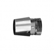 Metalbest 3VP-EC VP 7.6cm Type L Pellet Pipe Exit Cap