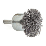Forney 60003 End Brush Coarse Circular with 0.6cm Shank 3.8cm