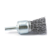 Forney 60001 End Brush Coarse Crimped Wire with 0.6cm Shank 2.5cm