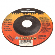 Forney 71800 Cut-Off Wheel with 2.2cm Arbour Metal Type 27 A36R-BF 11cm -by-0.2cm