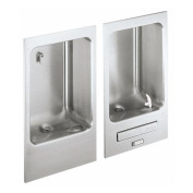 Elkay EDFBC212C ADA Wall Mount Fully Recessed Fountain with Front Push bar and C