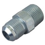Brass-Craft PSSC-64 Male Half Union, 1.6cm x 1.9cm , Flare X MIP, 0.5 psi, Stainless Steel, -40 TO 150
