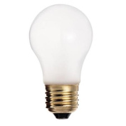 Satco S3740 60W 130V A15 Frosted E26 Medium Base Incandescent bulb