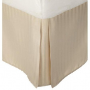 Simple Luxury Vanessa Microfiber Stripe Bed Skirt