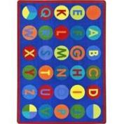 Joy Carpets & Co. 1801C-01 Alpha-Dots