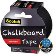 Scotch Chalkboard Tape, 4.8cm x 5 yd, Black